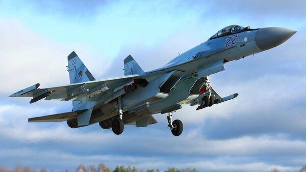 Un chasseur russe Su-35S - Sputnik France