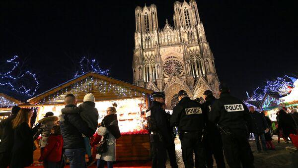 Notre-Dame de Reims, in Reims - Sputnik France