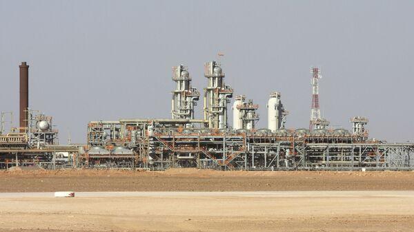 L'usine à gaz de Krechba, dans le Sahara algérien - Sputnik France