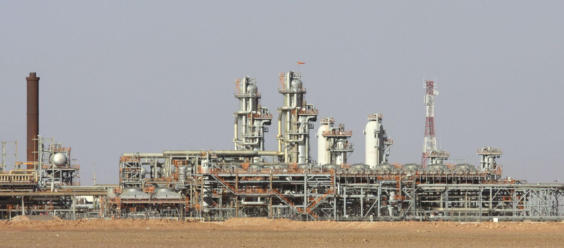 L'usine à gaz de Krechba, dans le Sahara algérien - Sputnik France, 1920, 25.03.2021