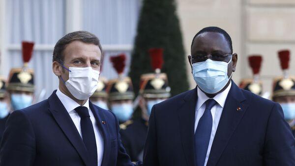Emmanuel Macron et Macky Sall - Sputnik France