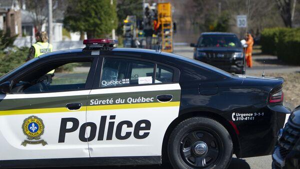Police au Québec (photo d'archives) - Sputnik France