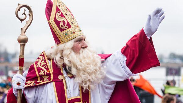 Saint Nicolas arrive à Anvers - Sputnik France