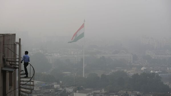 Pollution à New Delhi, image d'illustration - Sputnik France