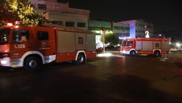 Pompiers en Iran - Sputnik France