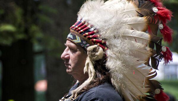 Chef de tribu abénaqui d'Odanak, Canada (image d'illustration) - Sputnik France