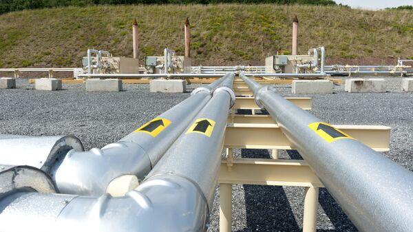 Des tubes destinés au gaz de schiste en Pennsylvanie (archive photo) - Sputnik France