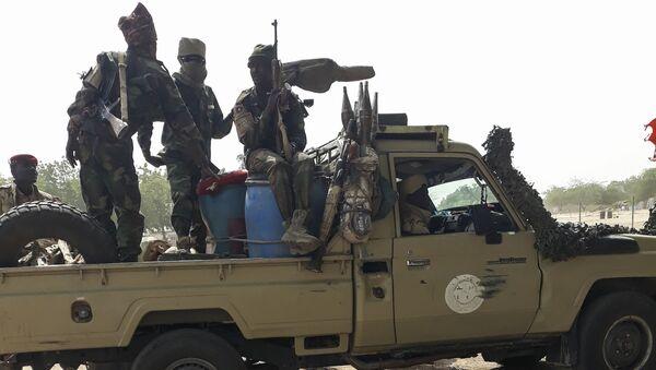 Les soldats de l'armée tchadienne après une mission d'un moins pour combattre Boko Haram, javier 2020 - Sputnik France