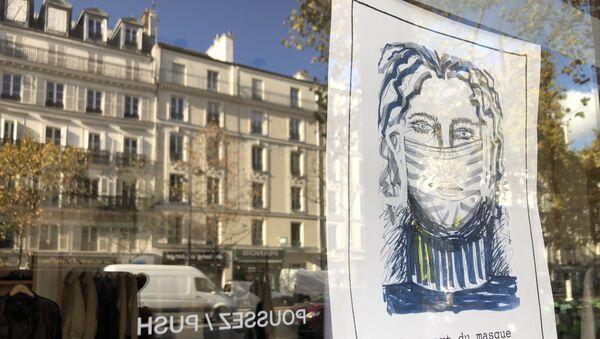 Le port du masque est obligatoire - Sputnik France