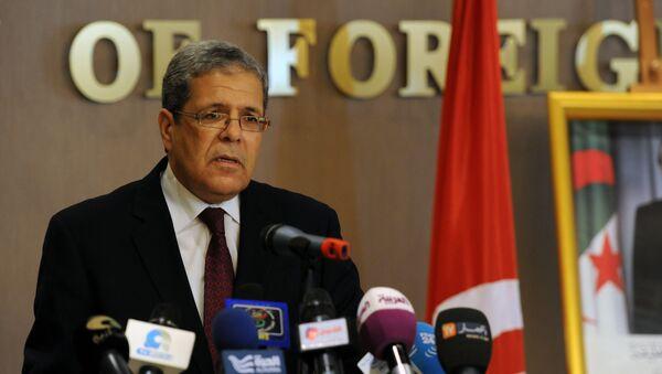 Othmane Jarandi, ministre tunisien des Affaires étrangères - Sputnik France
