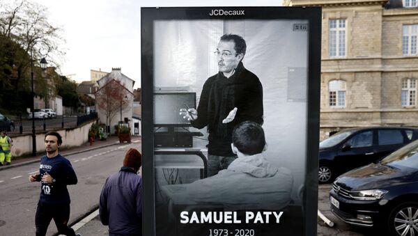 Samuel Paty - Sputnik France