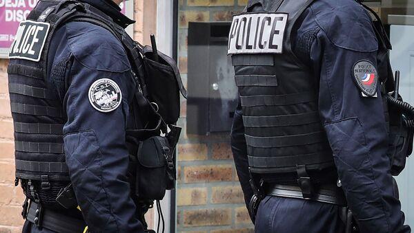 Des policiers de la CSI  - Sputnik France