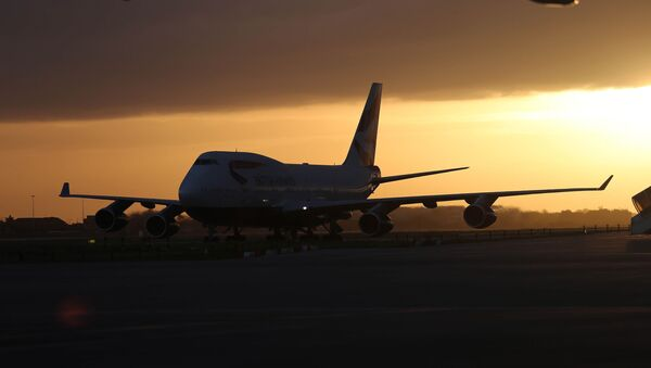 The sun sets on the Boeing 747 - Sputnik France