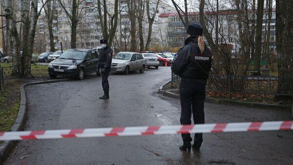 Un homme a pris en otage six enfants dans un appartement dans la banlieue de Saint-Pétersbourg, le 24 novembre 2020 - Sputnik France