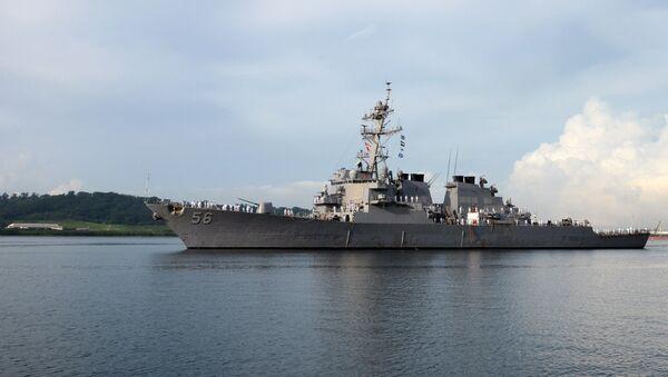 Destroyer USS John S.McCain  - Sputnik France