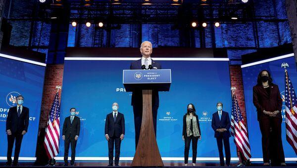 Le président-élu Joe Biden, Delaware, Etats-Unis, 24 novembre 2020 - Sputnik France