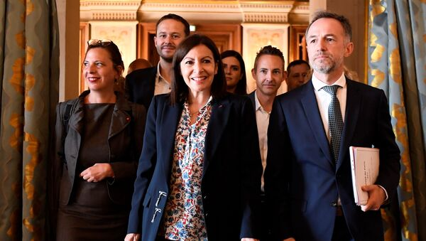 Anne Hidalgo et ses alliés écologistes - Sputnik France