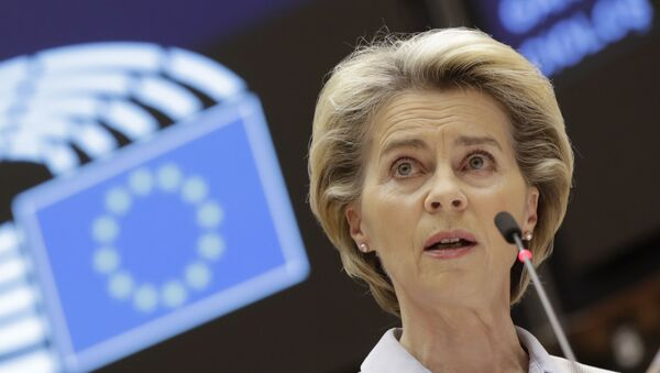 Ursula Von Der Leyen - Sputnik France