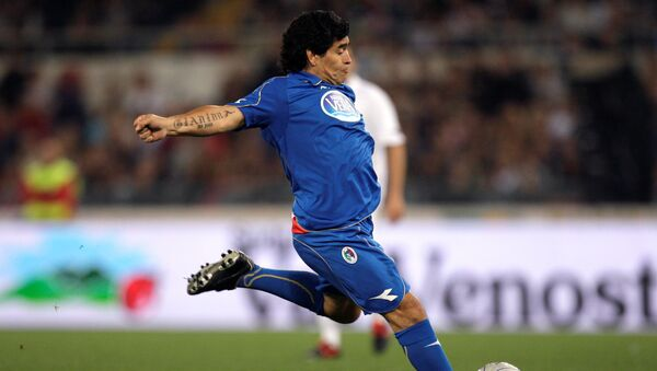Diego Maradona en 2008 - Sputnik France