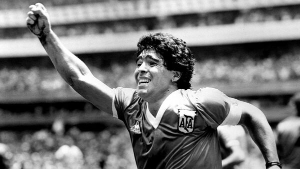Diego Maradona (archives) - Sputnik France
