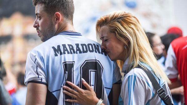 Le monde en deuil après la mort de Maradona   - Sputnik France