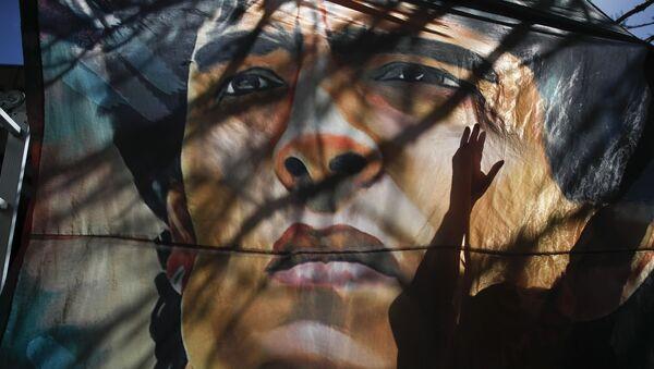 Une image de Diego Maradona (photo d'archives) - Sputnik France