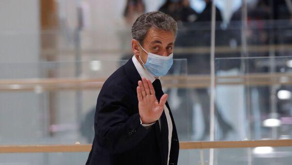 Nicolas Sarkozy au Tribunal Correctionnel de Paris le 23 Novembre 2020, pour le procès «Bismuth». - Sputnik France