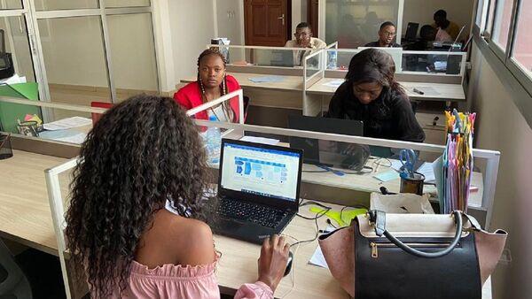 Hannibal Consulting, la jeune entreprise de Fabrice Fernand Fangwa, au Cameroun. - Sputnik France
