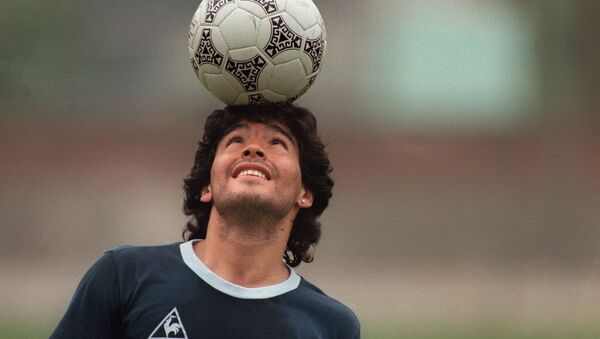 Diego Maradona en 1986 - Sputnik France