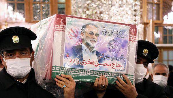 Funérailles de Mohsen Fakhrizadeh - Sputnik France
