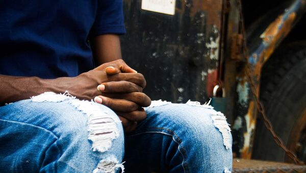 Les mains d'un Africain - Sputnik France