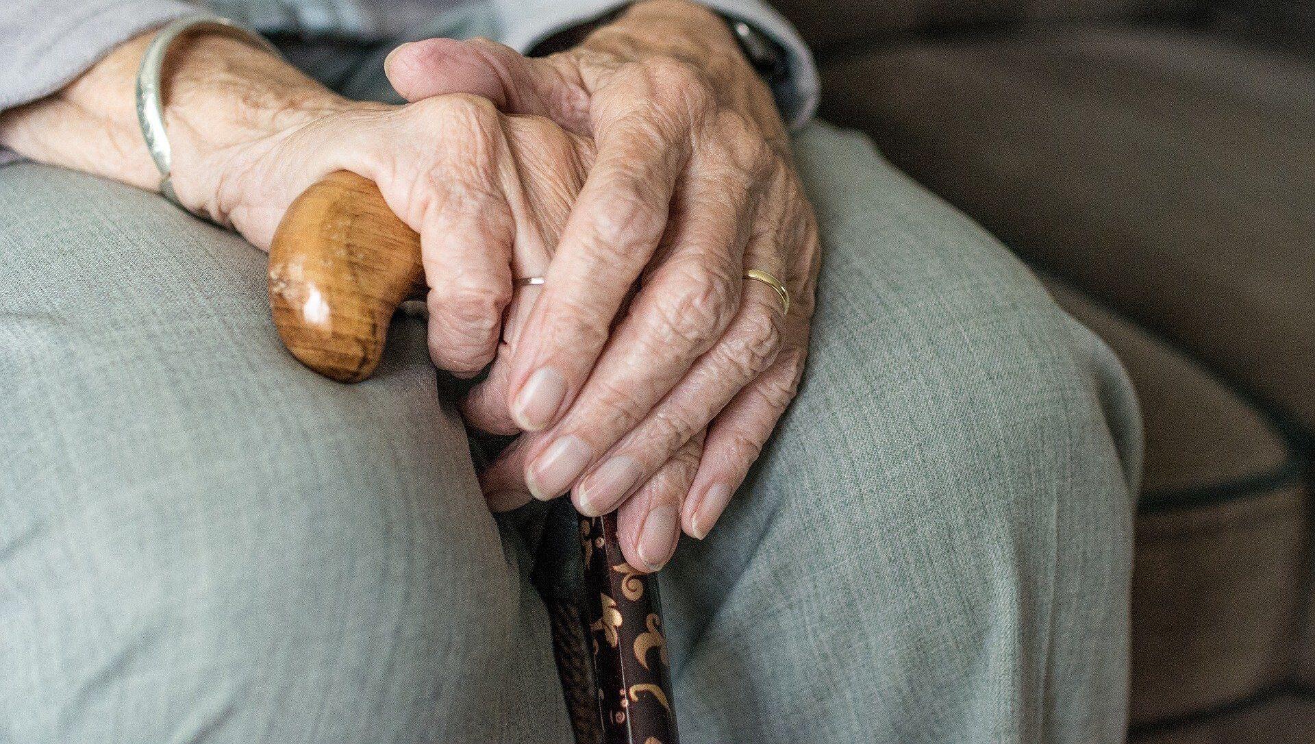 Une personne âgée - Sputnik France, 1920, 03.08.2021