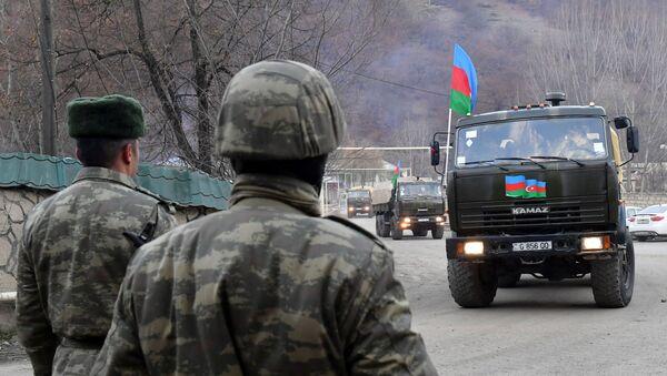 des militaires azerbaïdjanais au Haut-Karabakh (image d'illustation) - Sputnik France