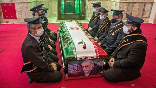 Les funérailles du scientifique nucléaire iranien Mohsen Fakhrizadeh - Sputnik France