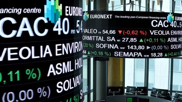 La Bourse de Paris a vécu un mois de novembre record - Sputnik France