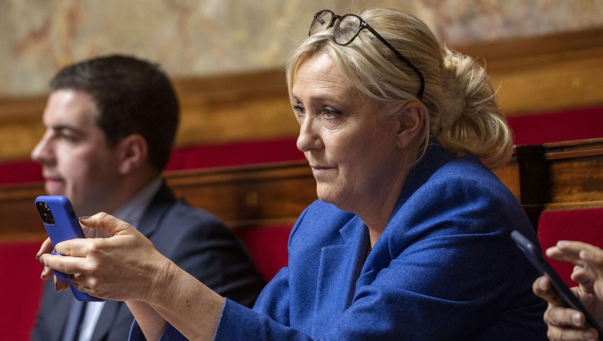 Marine Le Pen - Sputnik France, 1920, 09.09.2021