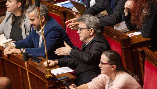 Jean-Luc Mélenchon et Alexis Corbière - Sputnik France