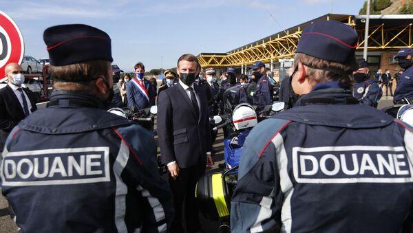 Emmanuel Macron Schengen - Sputnik France