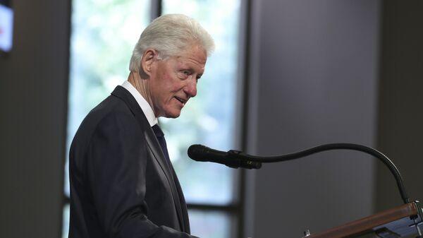 L'ex-Président US Bill Clinton  - Sputnik France