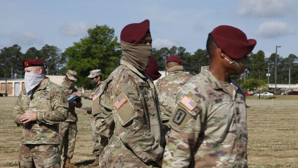 Des militaires à Fort Bragg (archives) - Sputnik France