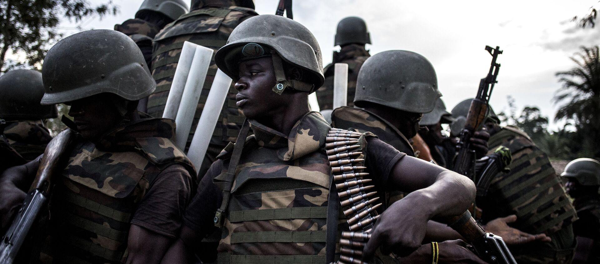 Des soldats des Forces armées de République démocratique du Congo (FARDC) - Sputnik France, 1920, 04.12.2020