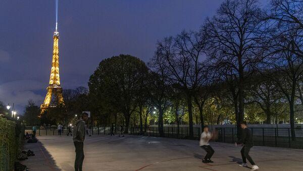 Paris en confinement, le 30 octobre - Sputnik France
