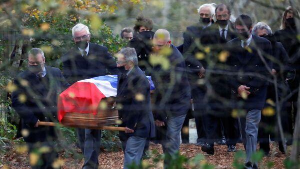 Funérailles de Valéry Giscard d'Estaing, le 5 décembre 2020 - Sputnik France