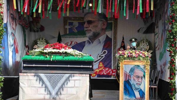 Funérailles de Mohsen Fakhrizadeh à Téhéran - Sputnik France