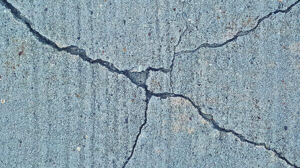 fissures, séisme  - Sputnik France