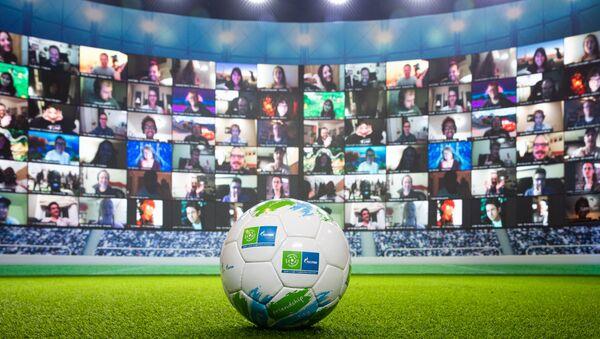 La huitième saison du programme social International pour enfants de Gazprom «Football pour l'amitié - Sputnik France