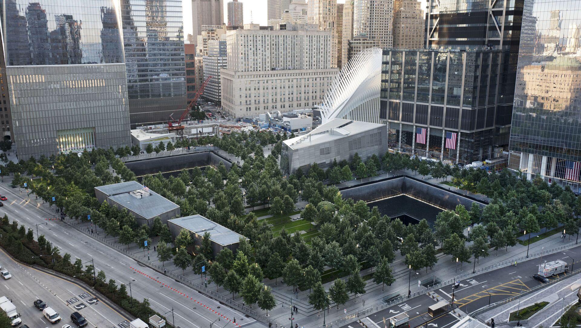 Le mémorial national en l'honneur des victimes du 11-Septembre à New York - Sputnik France, 1920, 06.08.2021