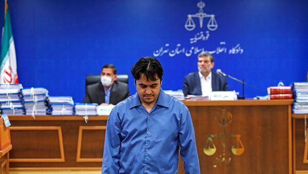 Journaliste et opposant iranien Rouhollah Zam - Sputnik France