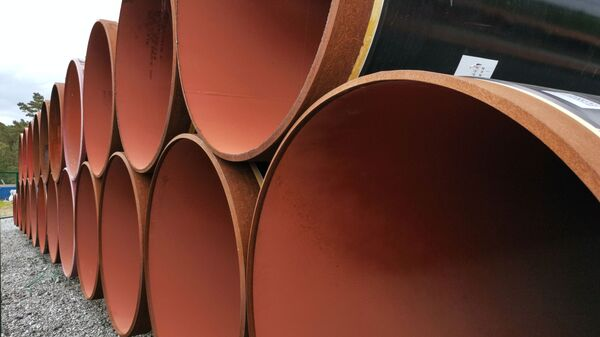 Tubes du futur gazoduc Nord Stream 2 stockés en Allemagne - Sputnik France
