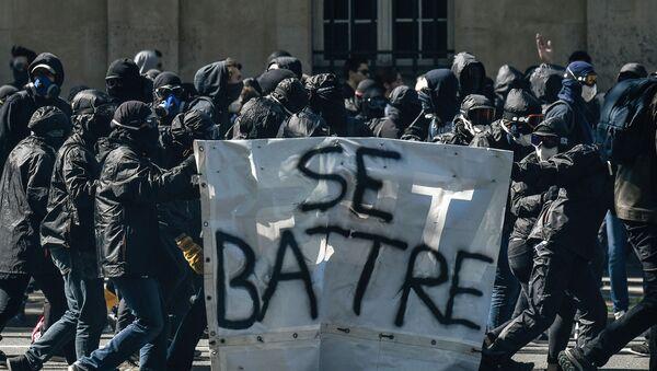 Black blocs France - Sputnik France